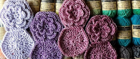 Whip Stitch Join For Hexagons Cypresstextiles