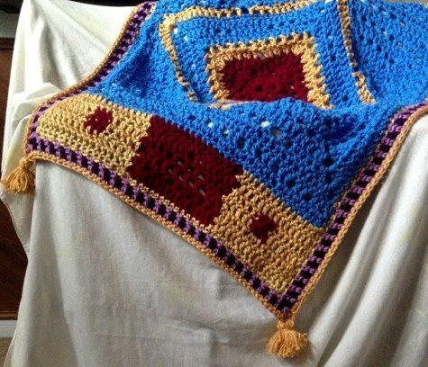 Crochet Magic Flying Carpet
