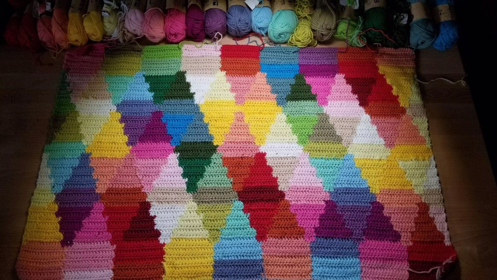 Birdsong Crochet Blanket Pattern A Colorful Intarsia Dream With